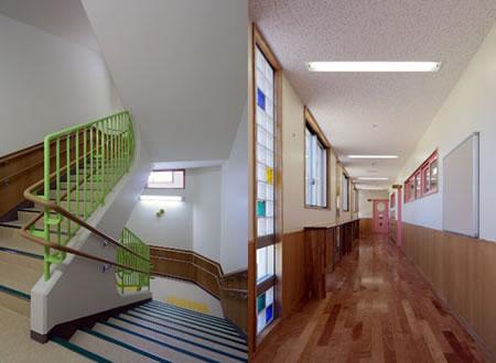 階段室/廊下