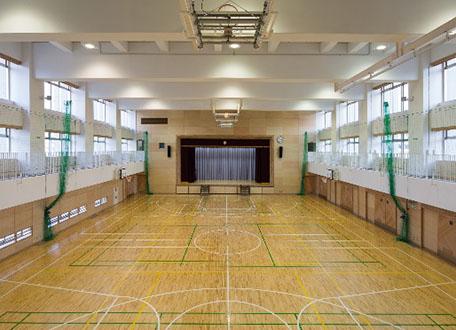 2階体育館