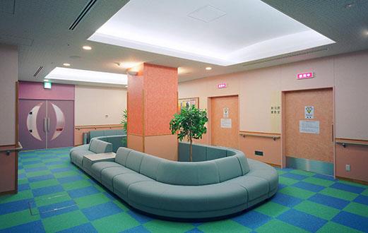 健診センター 放射線待合
