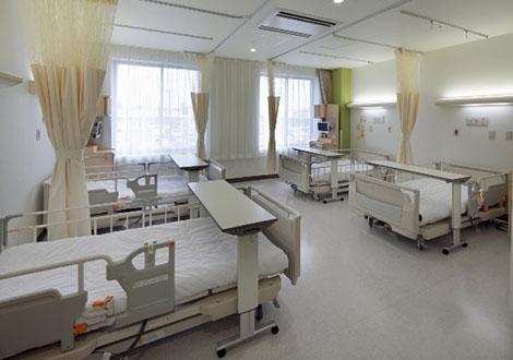 2階 病室内部